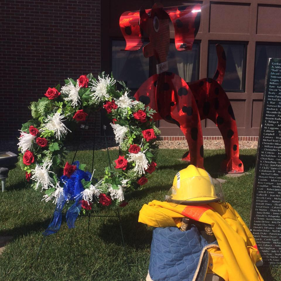 "The sculpture, ""R. HERO,"" honors firefighters, police officers, men and women in the military and first responders and will serve as a reminder of the sacrifices that these heroic individuals have made. The Nebraska Fire Fighters Museum was selected from the national field of fire stations, education centers, and museums as the newest recipient of a ""R. HERO"" sculpture."