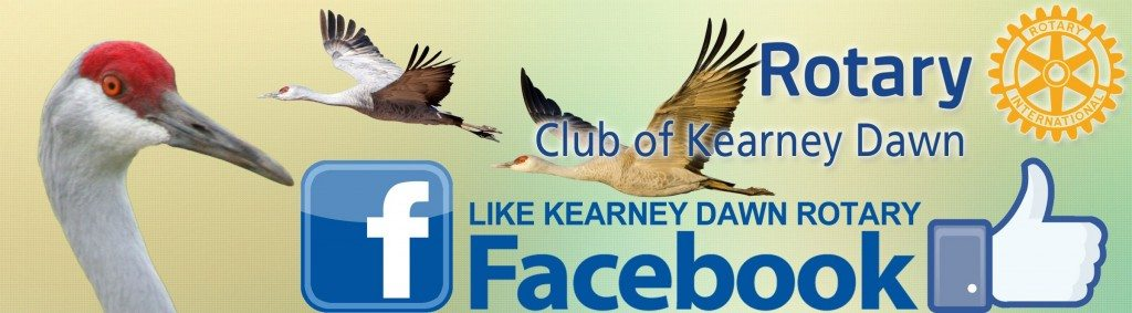 LIKE Kearney Dawn Rotary on FACEBOOK