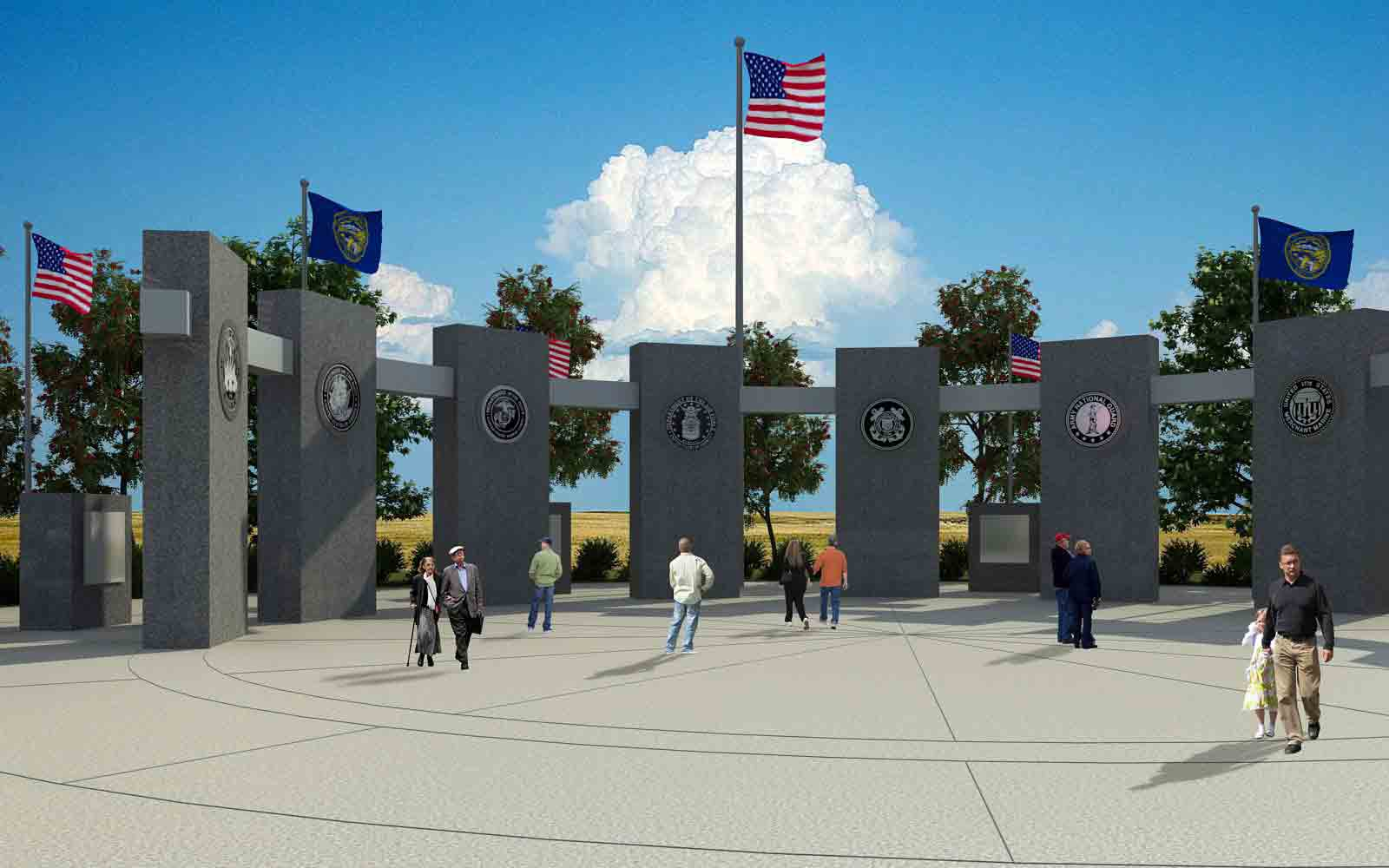 Central Nebraska Veteran's Memorial - Kearney, NE